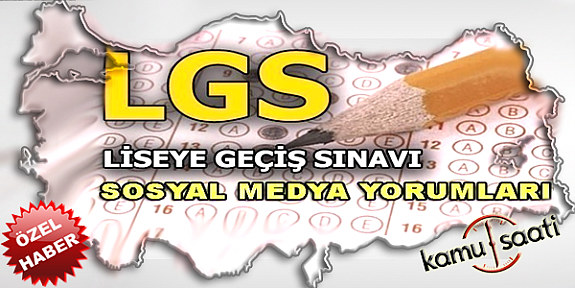 2020 LGS sosyal medya yorumları! 6 Haziran 2020 liseye geçiş sınavı nasıl Olacak?