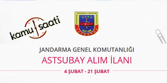 2020 Yılı Jandarma Genel Komutanlığı Astsubay ve Subay Alımı Yapacak