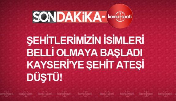 27-28 Şubat İdlip şehitleri isimleri Kayseri'li evladımız şehit oldu,Piyade Uzman Onbaşı Ali Taşöz (Develi)