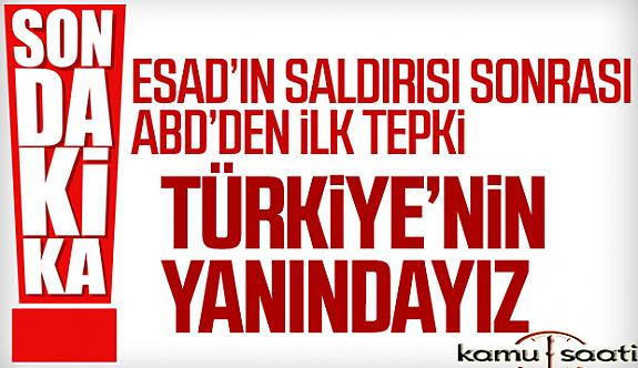 ABD Türkiye'ye Destek Vereceğini Duyurdu