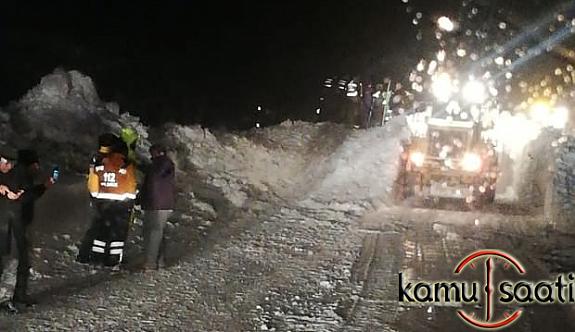 Çığ Felaketi Kayseri'de Ulaşımı Kapattı !