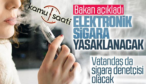 Elektronik sigara yasağı Resmi Gazete'de yayımlandı!