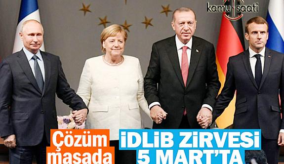 Erdoğan İdlib Zirvesi İçin  Tarihini Açıkladı