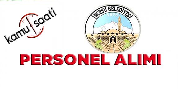 İncesu Belediyesi Personel Alımı