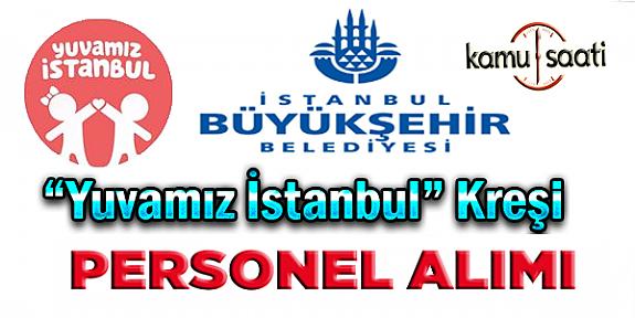 İstanbul büyükşehir belediyesi İBB yuvamız istanbul Okul Öncesi Öğretmeni personel alımı iş başvurusu
