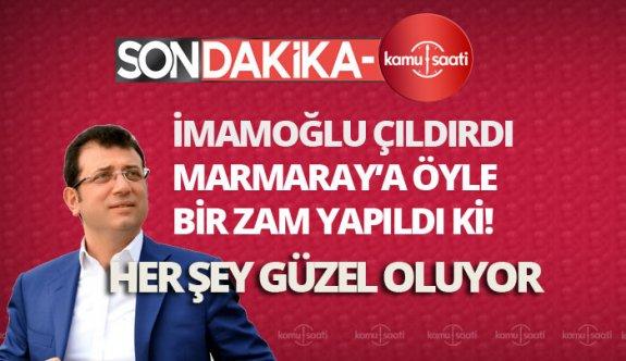İstanbul Marmaray'a zam! Marmaray'a zamlı tarifeler ne kadar oldu?