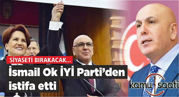 İYİ Parti Milletvekili,Bir Hışım ile İstifasını verdi