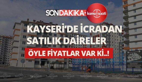 Kayseri/Melikgazi'de 3+1 daire icradan satılıktır