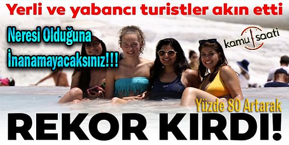 O Bölgemiz de Turist Sayısında İnanılmaz Değişim Rekor Kırdı !!!
