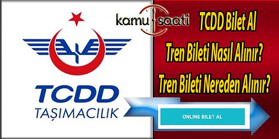 TCDD Bilet Al | internetten Tren Bileti Nasıl Alınır| OnlineTren Bileti Nereden Alınır?