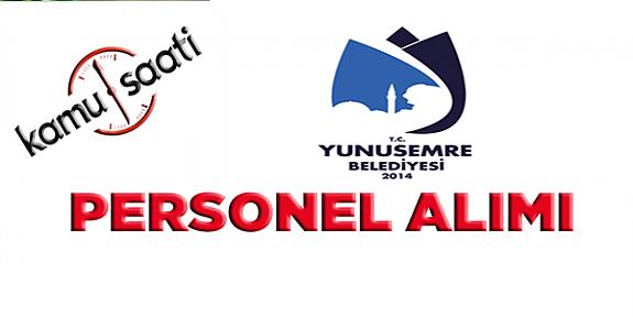 Yunusemre Belediyesi Personel Alımı