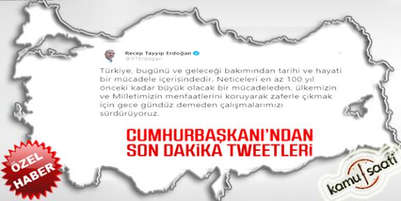 Başkan Erdoğan Şehitlerimize İlişkin Açıklama Yaptı