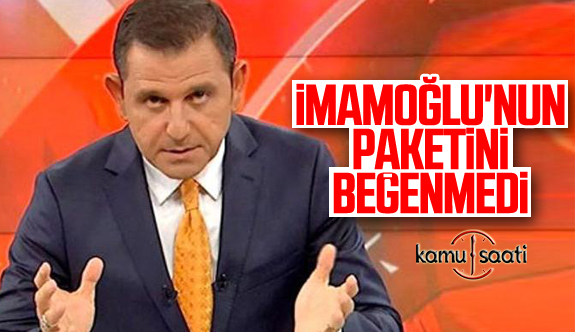 Fatih Portakal'dan İBB'nin Başkanı Ekrem İmamoğlu'na Yardım Paketine Eleştiri