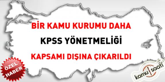 Şok Haber ! HSK'ya Memur Alımları, KPSS Yönetmeliği Kapsamı Dışına Alındı