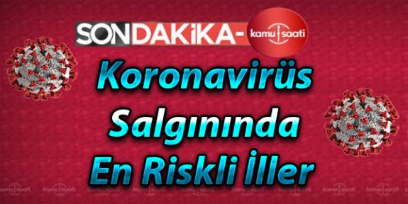 Koronavirüs Salgınında En Riskli İller Listesi