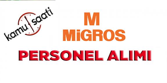 Migros Ticaret A.Ş Mağaza Personeli işe Alımı