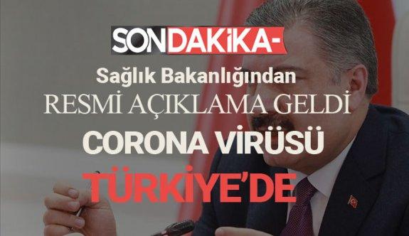 Sağlık bakanlığı Açıkladı!  Corona Virüsü Türkiye'de,Türkiye'de hangi il de çıktı
