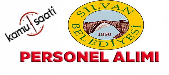 Silvan Belediyesi Personel Alımı
