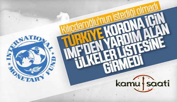 Son Dakika IMF: Türkiye Bizden Yardım İstemedi! İşte Detaylar