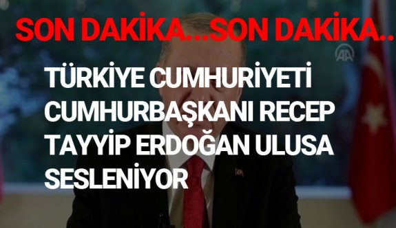 Türkiye Cumhuriyeti Cumhurbaşkanı Recep Tayyip Erdoğan Ulusa Sesleniyor Canlı yayın CNN TÜRK 27 MART 2020