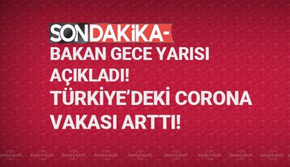 Türkiye'de kaç kişide corona virüsü çıktı? Türkiye'de corona virüsünden ölen var mı 14 mart 2020