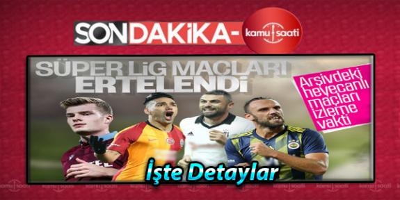 Türkiye'de Koronavirüsten Dolayı Futbol Müsabakaları Ligler Ertelendi