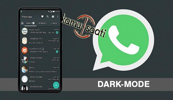 WhatsApp'ta karanlık modu Nasıl Aktif Hale Geliyor ?