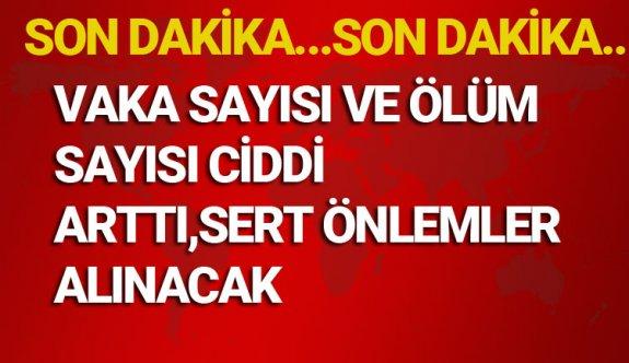 05 Nisan Pazar 2020 Korona Virüsü vaka sayıları ve ölüm sayıları Türkiye