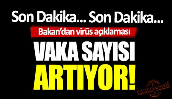 06 Nisan Pazartesi 2020 Korona Virüsü vaka sayıları ve ölüm sayıları Türkiye