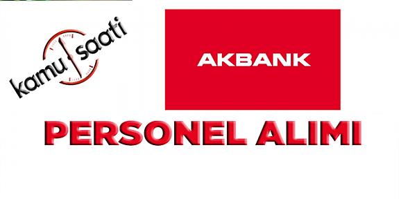 Akbank Yönetici Adayı Personel Alımı