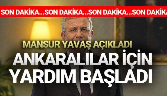 Ankara büyükşehir belediyesi korona virüsü nedeni ile nakit para yardımı başvurusu 2020
