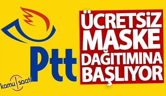 Devlet PTT ile Bedava Maske Dağıtımı Yapacak! Devlet Ptt ile Maskeleri Ücretsiz Evlere Gönderecek! E - Devlet Ücretsiz Maske Başvurusu