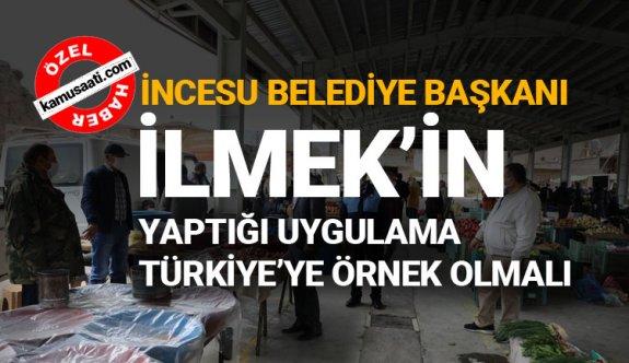 İncesu belediye başkanı İlmek, Tüm Türkiye'ye Örnek Olacak Bir Uygulama Gerçekleştirdi