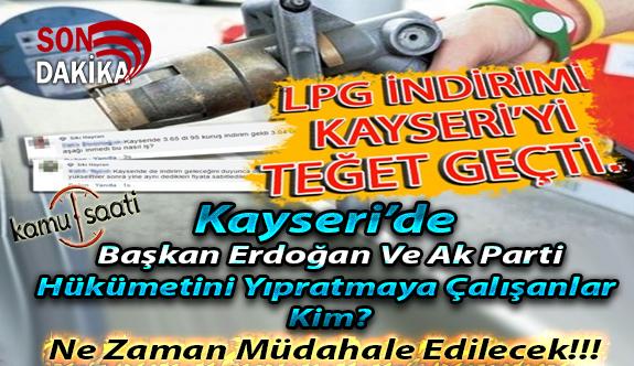 Kayseri'de Lpg Fiyatlarındaki Adaletsizlik Tepki Topladı! Tüketici Koruma Memurları Nerede
