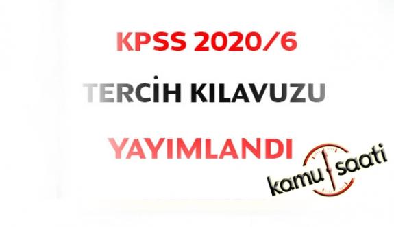 KPSS 2020/6 Tercih Kılavuzu Yayınlandı! İşte Devlet Memuru Ataması Yapılacak Kadrolar