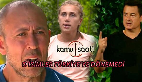 Survivor'dan Elenen Yarışmacılar Türkiye'ye Gelemedi