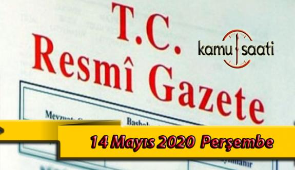 14 Mayıs 2020 Perşembe TC Resmi Gazete Kararları