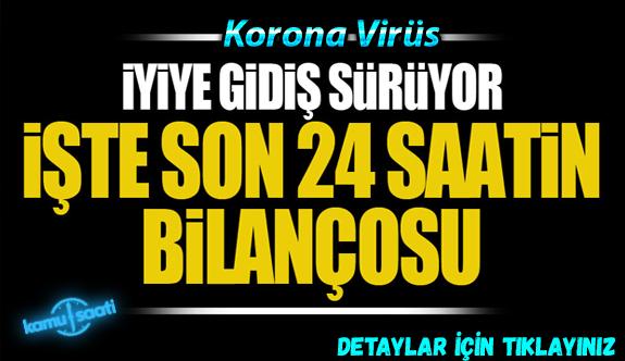 27 Mayıs Çarşamba Korona virüs Türkiye'de Son Durum Vaka ve Ölüm Sayıları kaç? İşte Detaylar