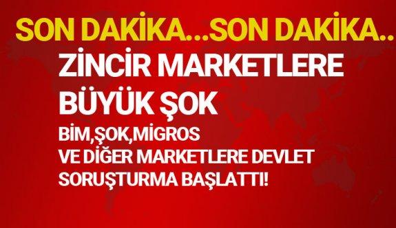 Bim,Şok,Migros,CarrefourSA gibi zincir marketlere büyük soruşturma,4054 yasası nedir