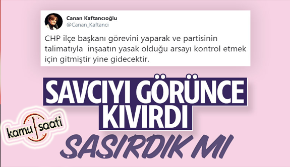 Canan Kaftancıoğlu ifadesinde çark etti