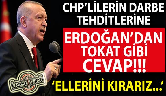 Darbe tehditleri sonrası Cumhurbaşkanı Erdoğan'ın o paylaşımı gündem oldu