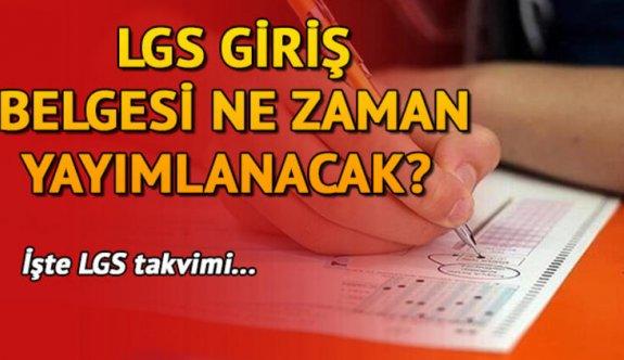 e-Okul LGS sınav giriş belgesi ne zaman yayınlanacak? LGS sınav giriş belgesi nereden alınır ?  2020 LGS başvurusu nasıl yapılır?
