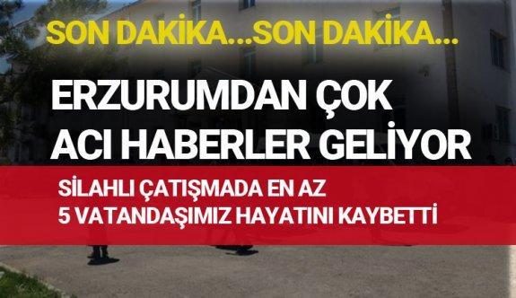 Erzurum'daki olay da bir ailenin ocağı söndü! İşte o şok olay