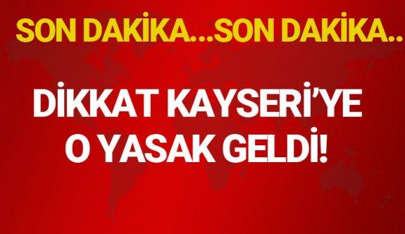 Kayseri'de maskesiz sokağa çıkmak yasaklandı mı, maskesiz sokağa çıkmanın cezası
