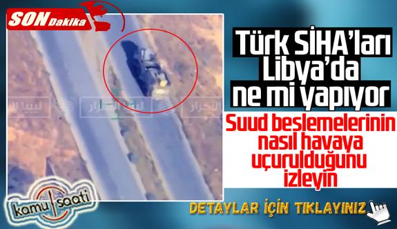 Libya'da Türk SİHA'ları 5 Pantsir sistemi vurdu