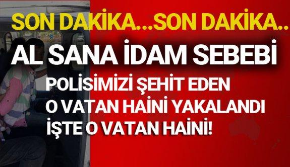 O hain yakalandı,Diyarbakır'da Atakan Arslan Polisimizi şehit eden işte o hain!
