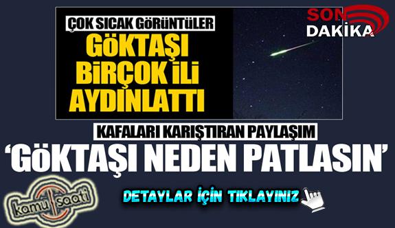 Türkiye'ye göktaşı düştü mü? Trabzon'a göktaşı düştü iddiası