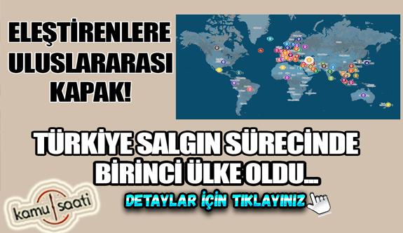 Türkiye,corona virüs salgını sonrası en çok tedbiri hayata geçiren ülke oldu