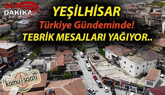 YEŞİLHİSAR Türkiye Gündeminde! Bu ilçede aktif pozitif korona virüs vakası yok