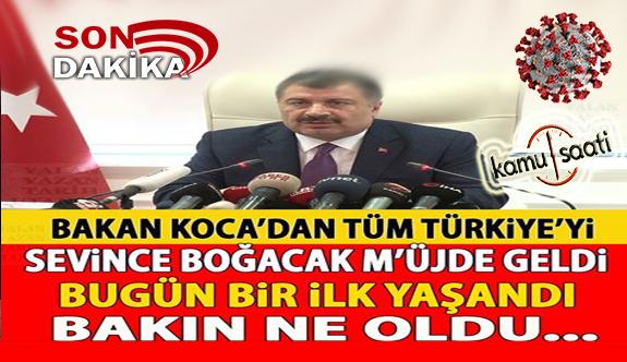 01 Haziran Pazartesi Korona virüs Türkiye'de Son Durum Vaka ve Ölüm Sayıları kaç? İşte Detaylar